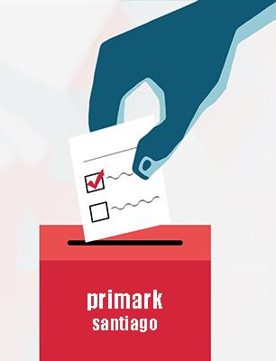 eleccións Primark Santiago