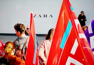 Concentración CCOO Zara