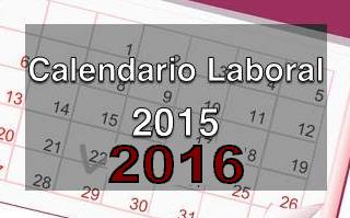 Calendario Laboral 2015-16