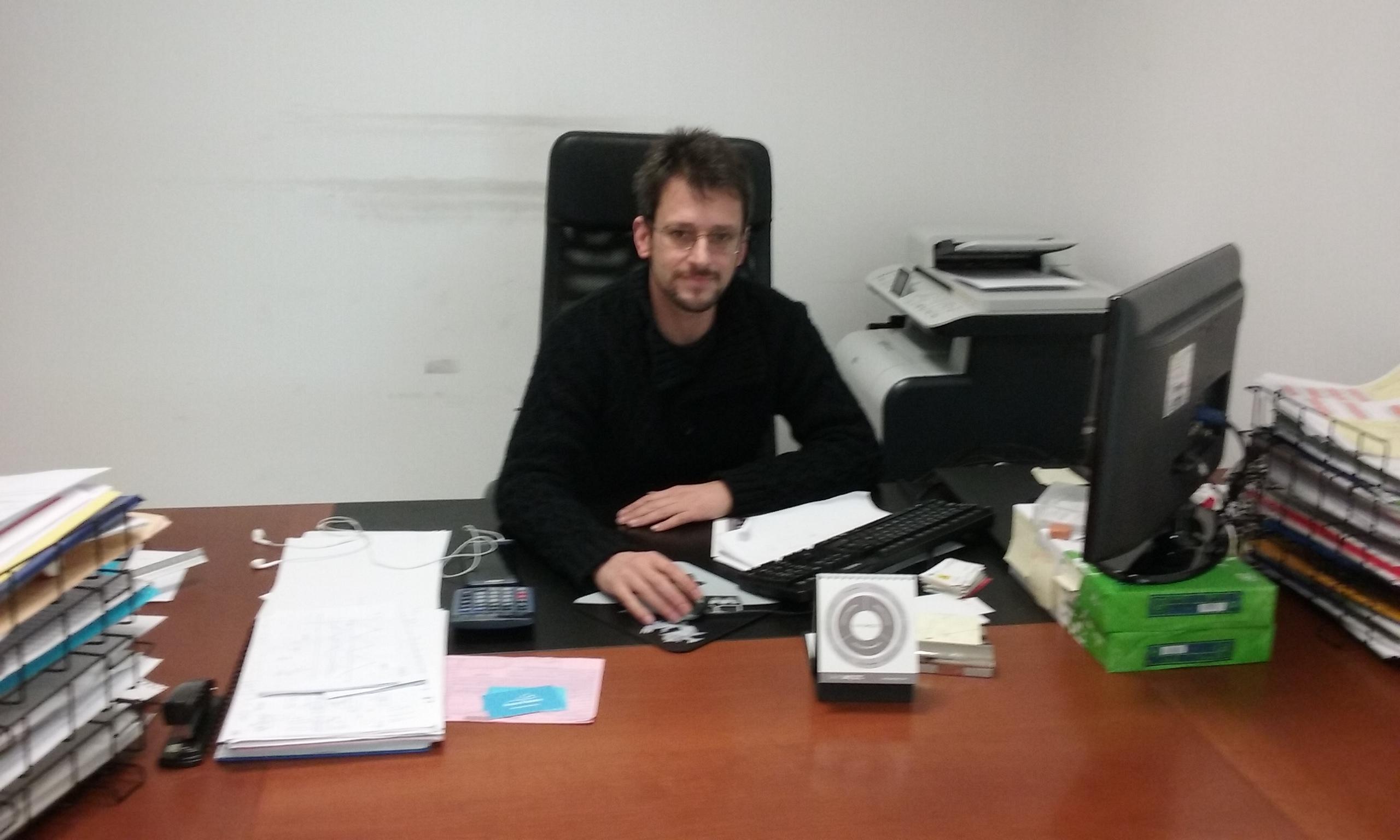 Sergio Bueno, secretario general sección sindical de CCOO en Madrid