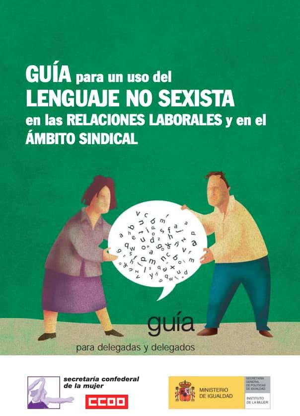 Guia lenguaje no sexista ámbito sindical