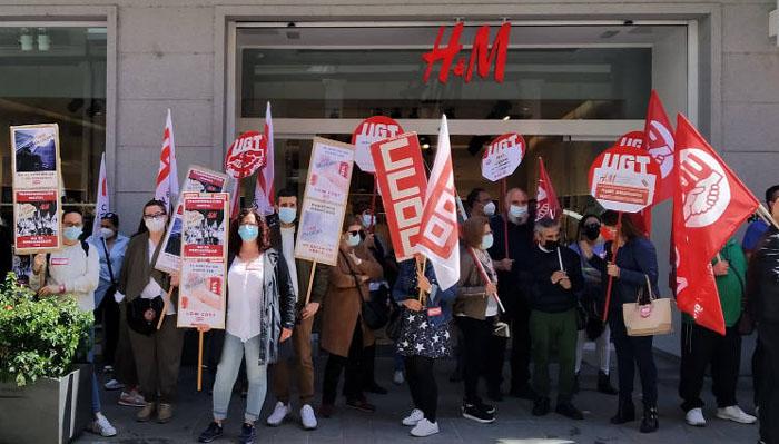 H&M, concentración