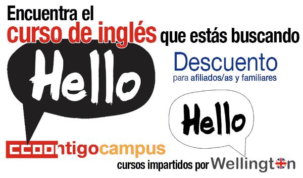 Cursos de Inglés para afiliadas y afiliados a CCOO