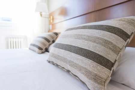 Imagen de habitacion hotel, camas. Hostelería