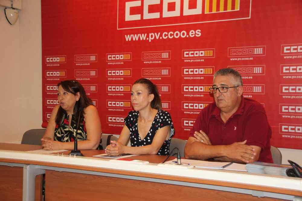Rueda de prensa Valencia Camareras