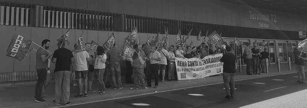 Huelga hosteleria en Aeropuertos de AENA