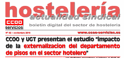 Boletin Sindical Hostelería 42