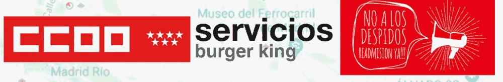 Movilizaciones en Burger King