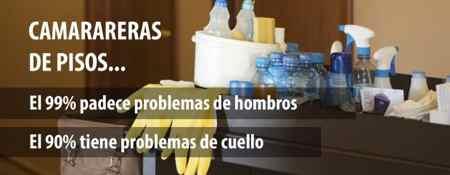 Salud laboral camareras de piso