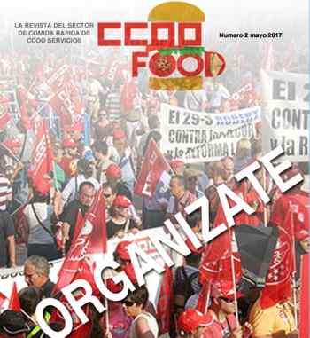 CCOO Food, revista Comida Rápida. Numero 2