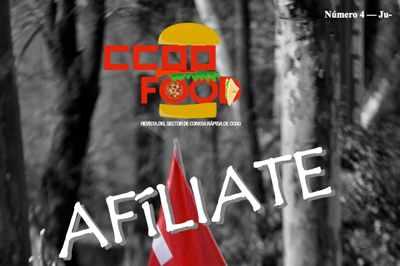 Revista CCOO Food. Comida rápida