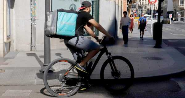DEliveroo reparto. No son autónomos