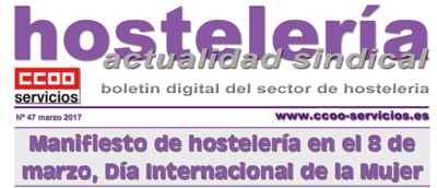 Boletín Hostelería Sindical CCOO 47