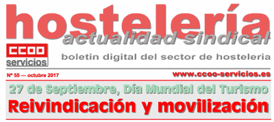 Boletín Hostelería Sindical CCOO núm. 55