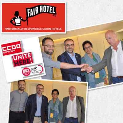 hoteles justos ccoo ugt unite fair hotel