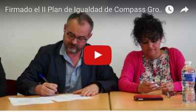 Plan de igualdad grupo compass. Firma