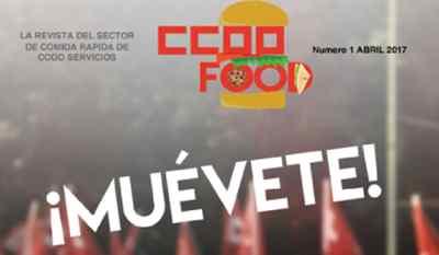 REvista CCOO sector comida rápida
