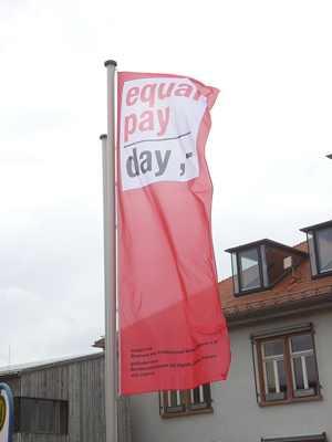 Igualdad Salario Mujer. Equal Pay day