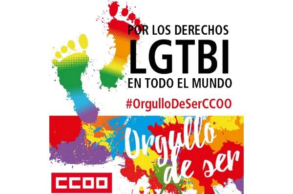 Cartel CCOO LGTBI+