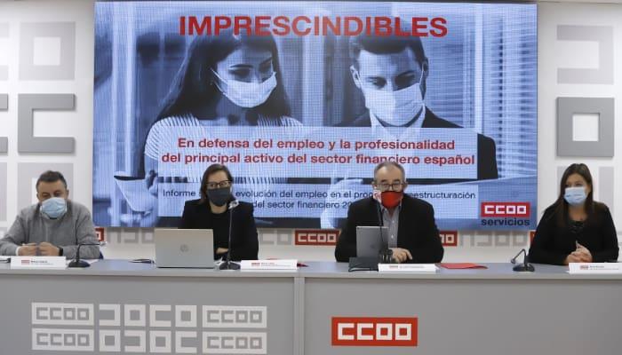 Jose Maria Martinez en rueda de prensa sobre sector inanciero