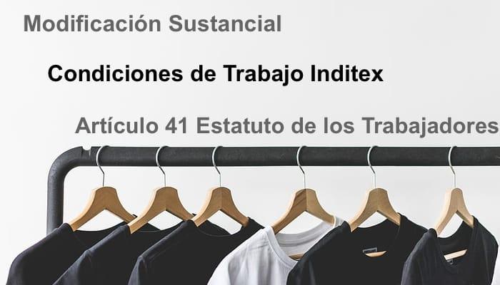 Tienda Textil. Condiciones de trabajo en Inditex