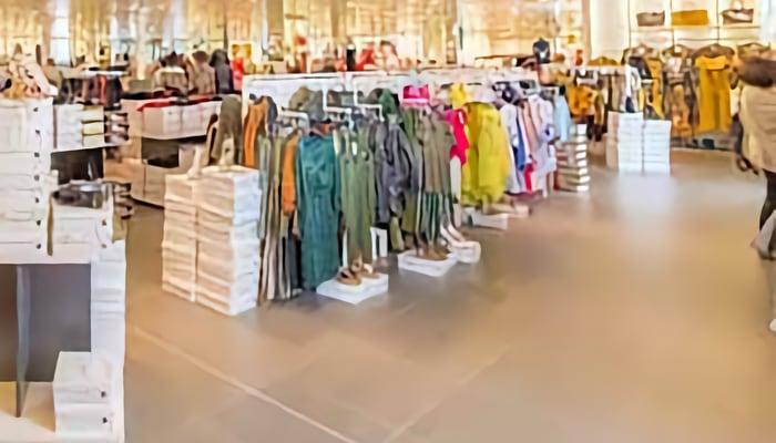 Tienda de ropa. Grupo inditex