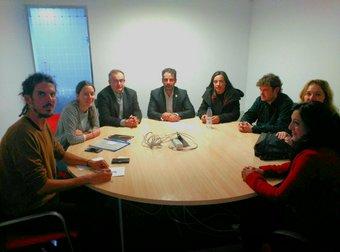 reunion contra ERE Grupo Tragsa