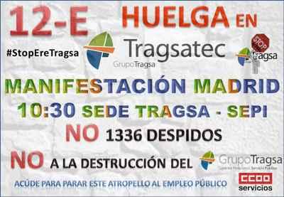 Huelga en Tragsatec
