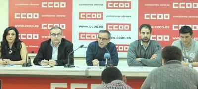 Rueda prensa ERE Tragsa CCOO