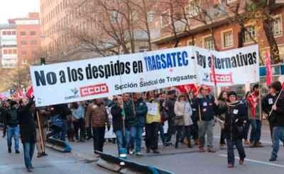 Manifestacion contra ERE Tragsatec