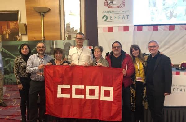 FOTO Federación de Servicios de CCOO Congreso EFFAT