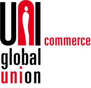 Logotipo UNI Global Union en Comercio