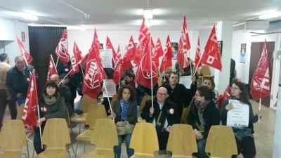 Concentración CCOO Embajada Bangladesh Madrid. Solidaridadd