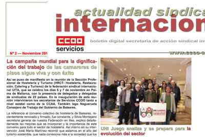Boletin sindical internacional