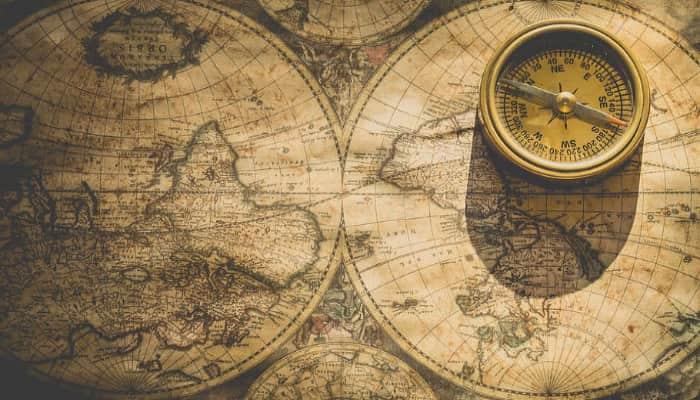 Imagen mapa mundi. Informativo internacional