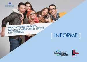 Proyecto UNI empleo jóvenes en el Comercio