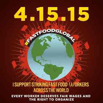 Día Internacional de Acción en el Sector de las Comidas Rápidas