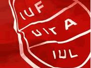 Logotipo UITA (sindicato hosteleria internacional)