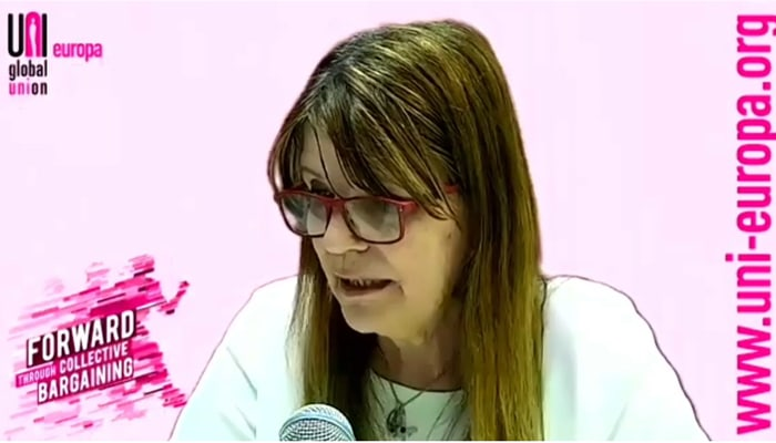 Pilar Rato vicepresidenta UNI Europa