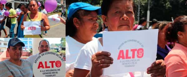 convenio internacional para erradicar la violencia y el acoso en el mundo del trabajo