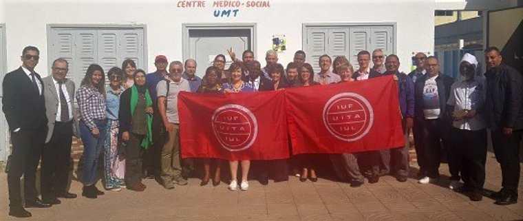 Reunion sindical internacional hotels Accor