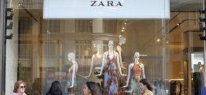 Tienda de Zara. Comercio