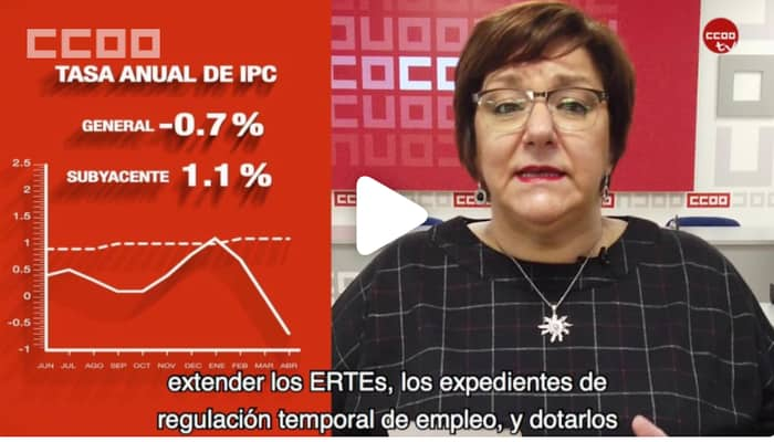 IPC Abril valoracion CCOO