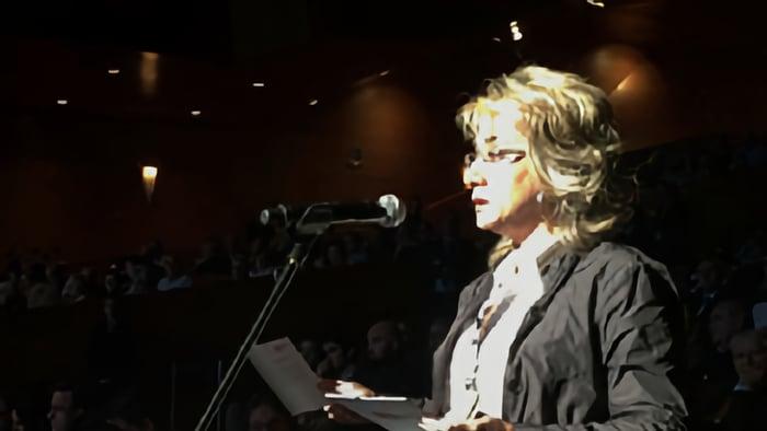 Isabel Gil, secretaria general CCOO BBVA