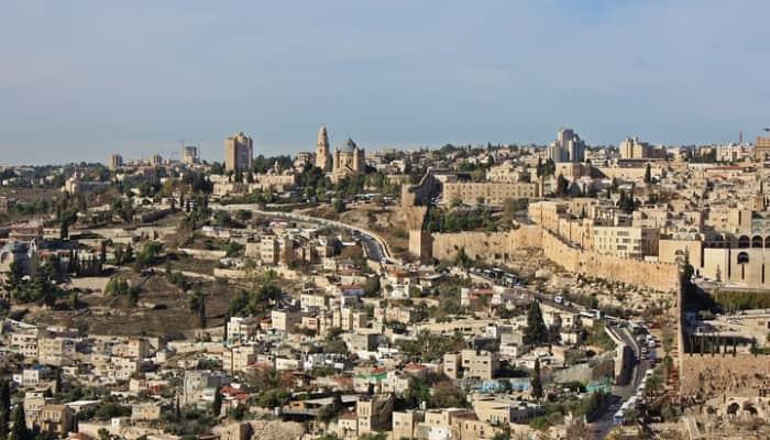 Imagen de Jersusalen. Oriente Medio