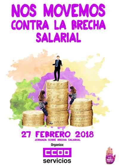 Jornada Brecha Salarial Servicios CCOO