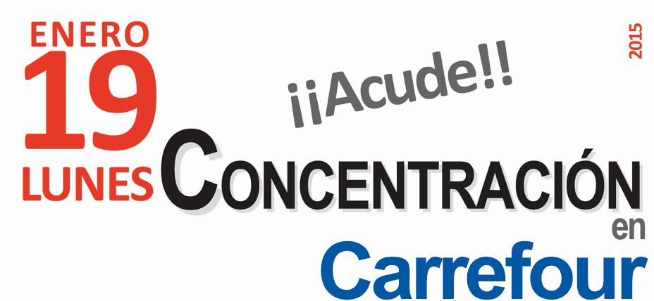 Modificacion jornada Carrefour