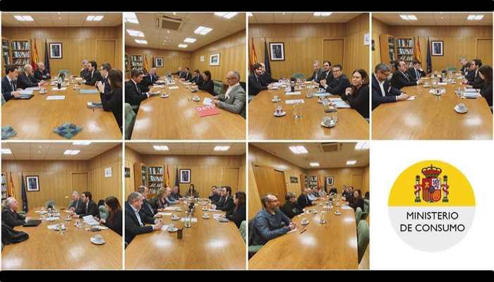 REunión Ministerio de Consumo sobre el Juego