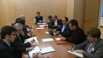 Reunion CCOO grupos parlamentarios