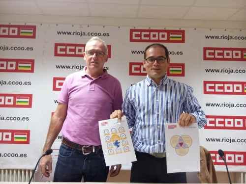 Rueda prensa CCOO Turismo en laRioja
